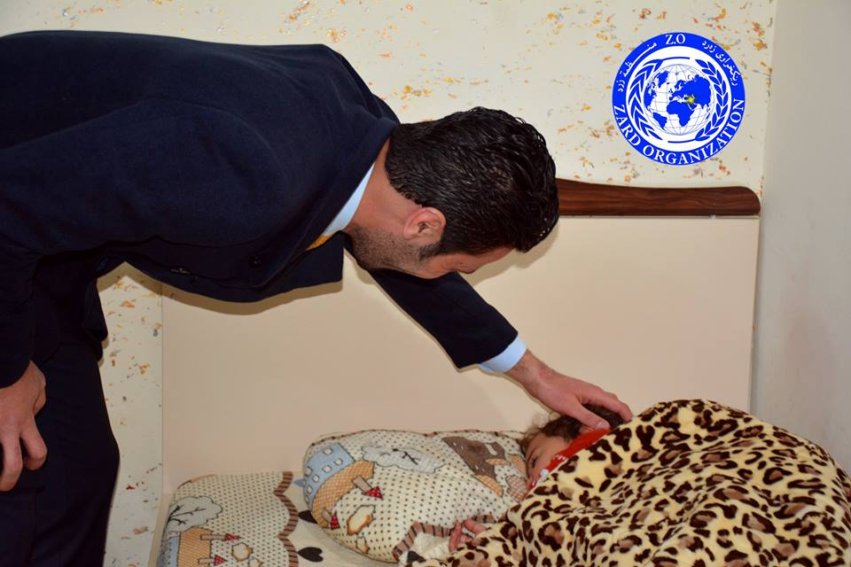 Completion of reconstruction projects orphanage teenagers - Erbil - Kurdistan