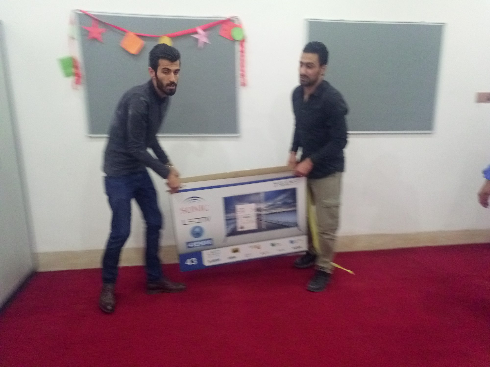 Help in making school and presenting school objects for lovely children in Soran City - Erbil